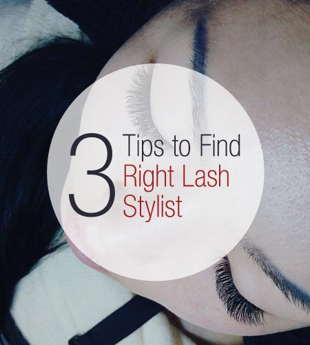 3 Tips to Find the Right Lash Stylist